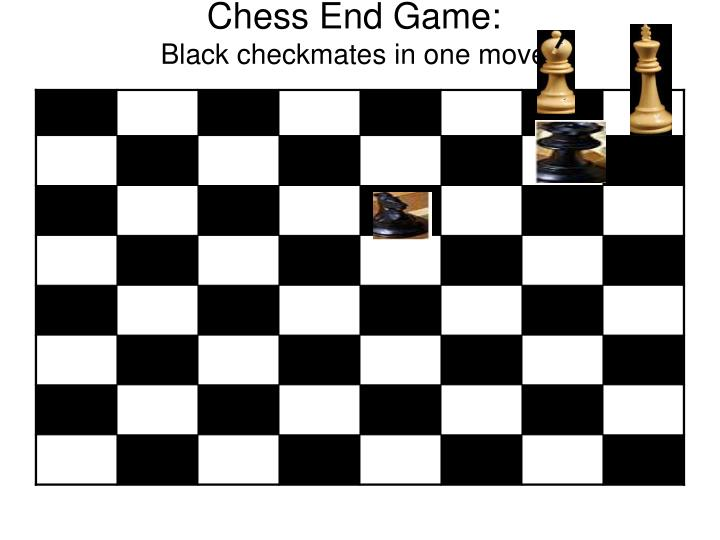 Chess End Game: