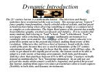 dynamic introduction