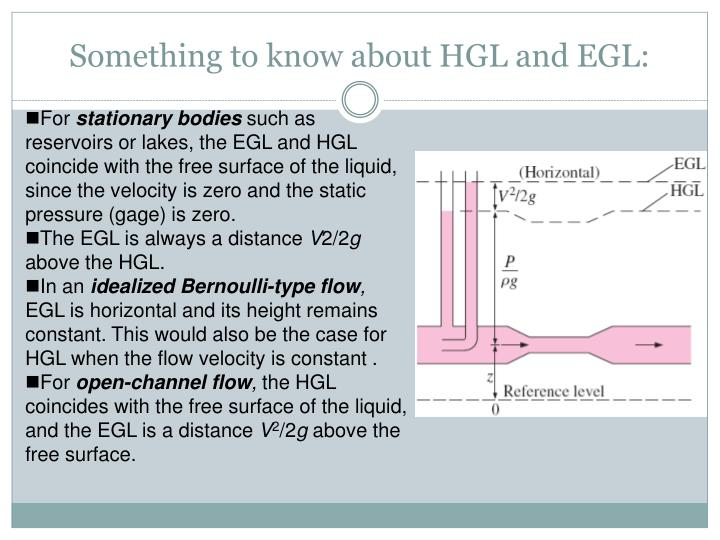 Something to know about HGL and EGL: