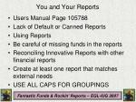 you and your reports1
