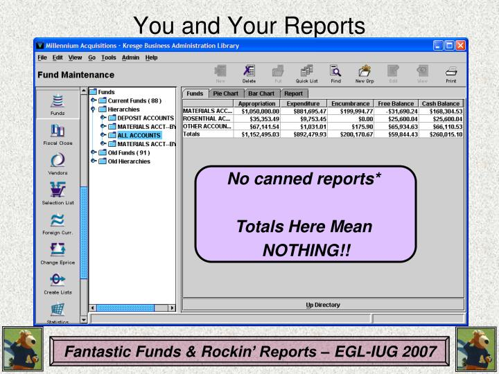 You and Your Reports