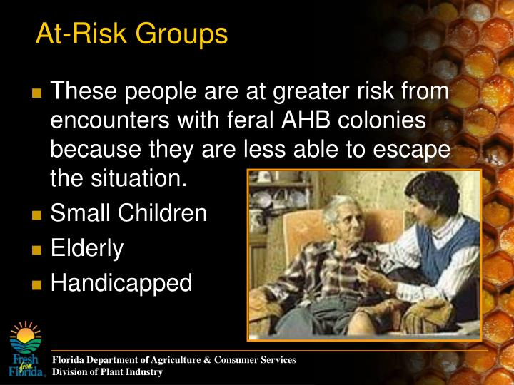 At-Risk Groups