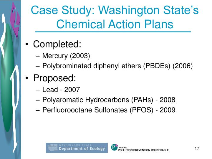 Case Study: Washington State's Chemical Action Plans