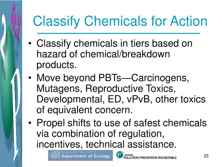 Classify Chemicals for Action