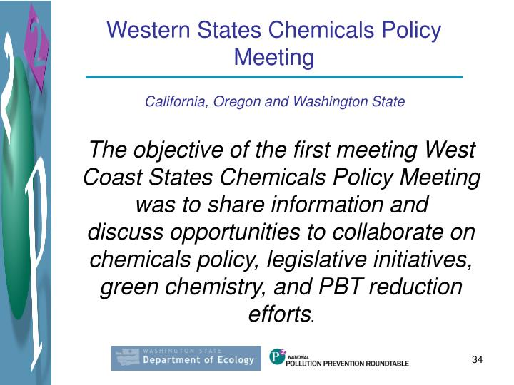Western States Chemicals Policy Meeting