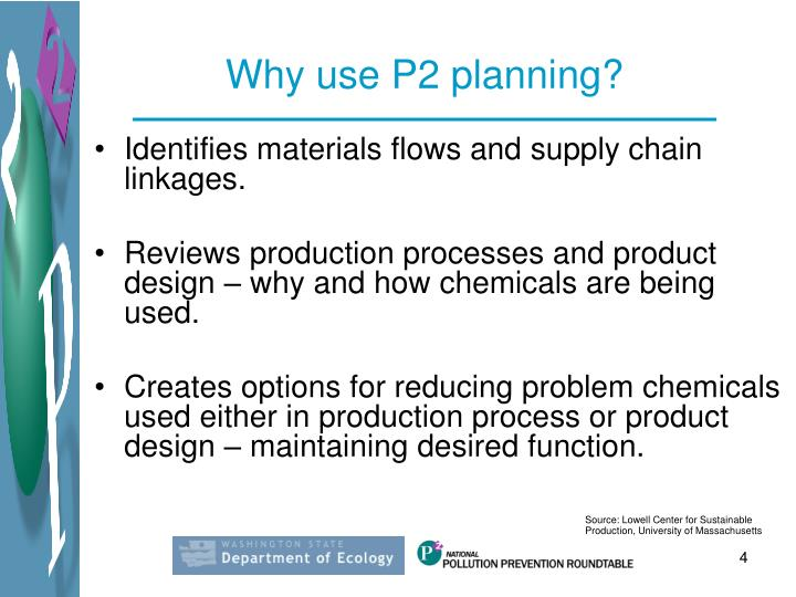 Why use P2 planning?