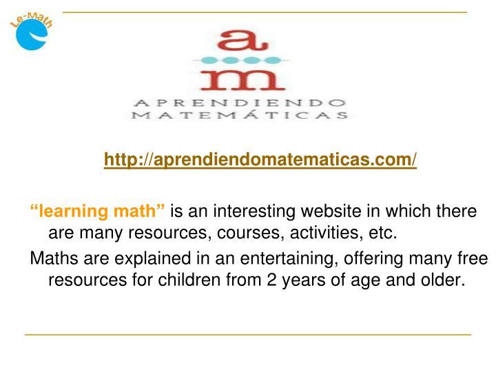 http://aprendiendomatematicas.com/