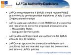 lafco authority decisions