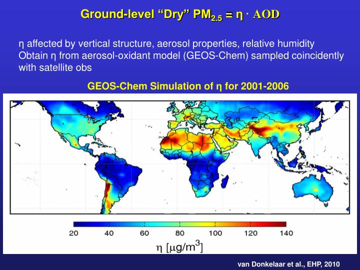 "Ground-level ""Dry"" PM"