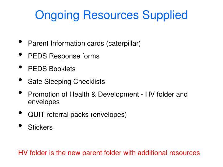 Parent Information cards (caterpillar)