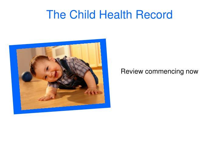 The Child Health Record