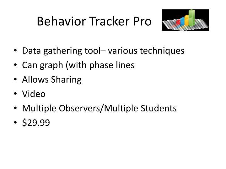 Behavior Tracker Pro