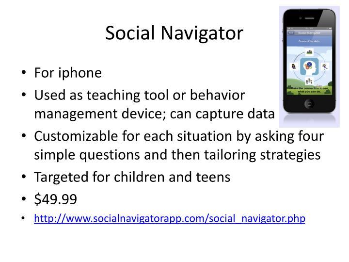 Social Navigator