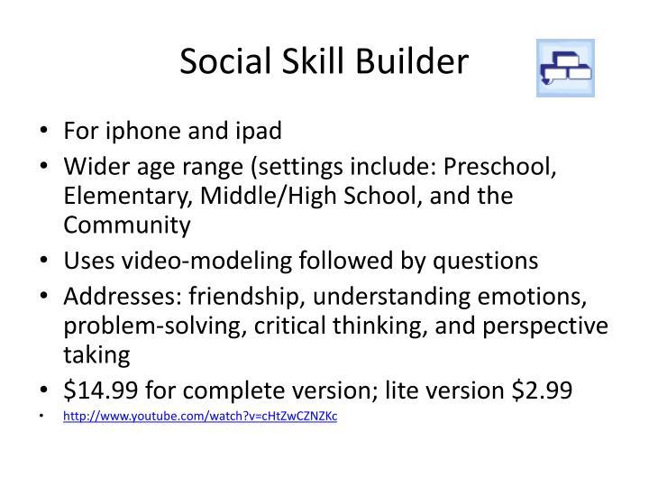 Social Skill Builder