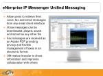 enterprise ip messenger unified messaging