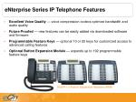 enterprise series ip telephone features2