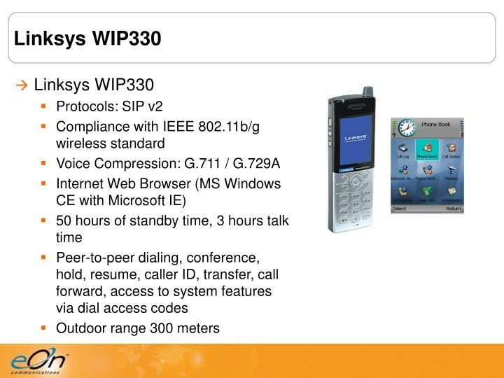 Linksys WIP330