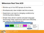millennium real time acd1