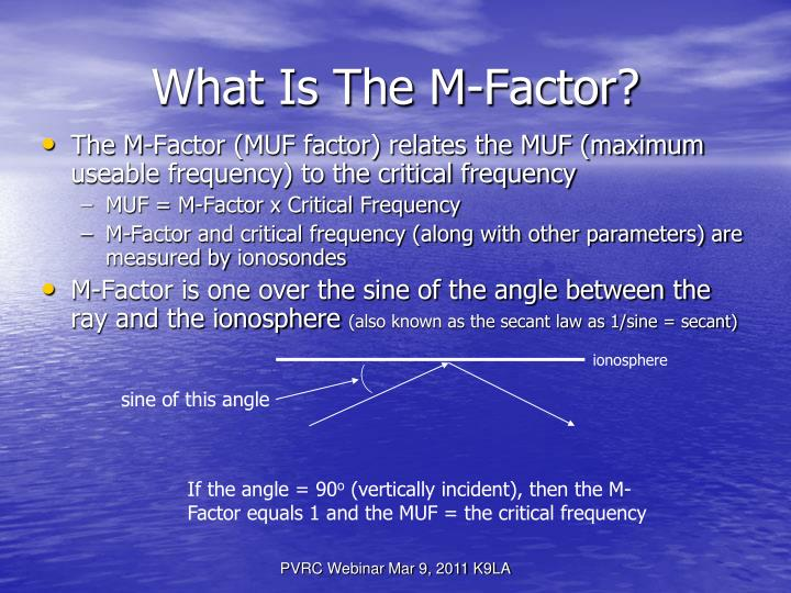 What Is The M-Factor?