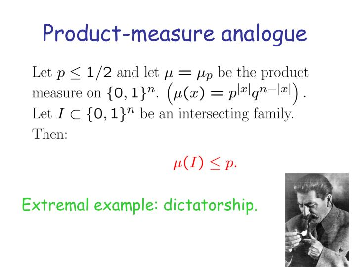 Product-measure