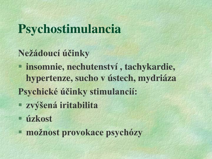 Psychostimulancia