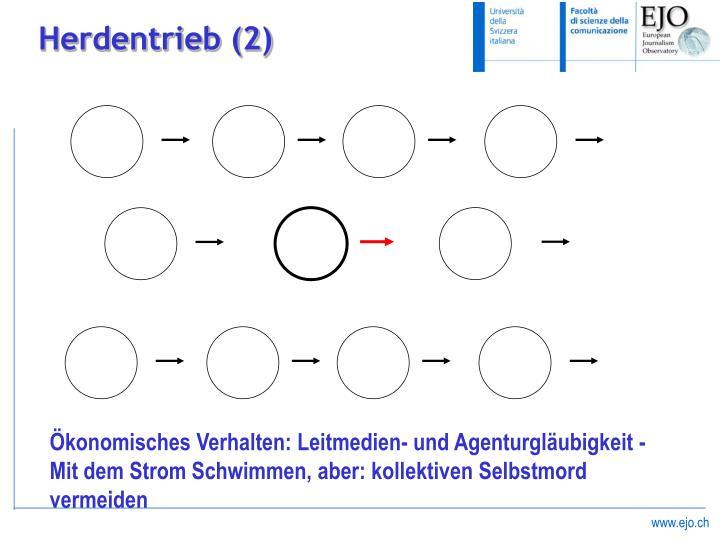 Herdentrieb (2)