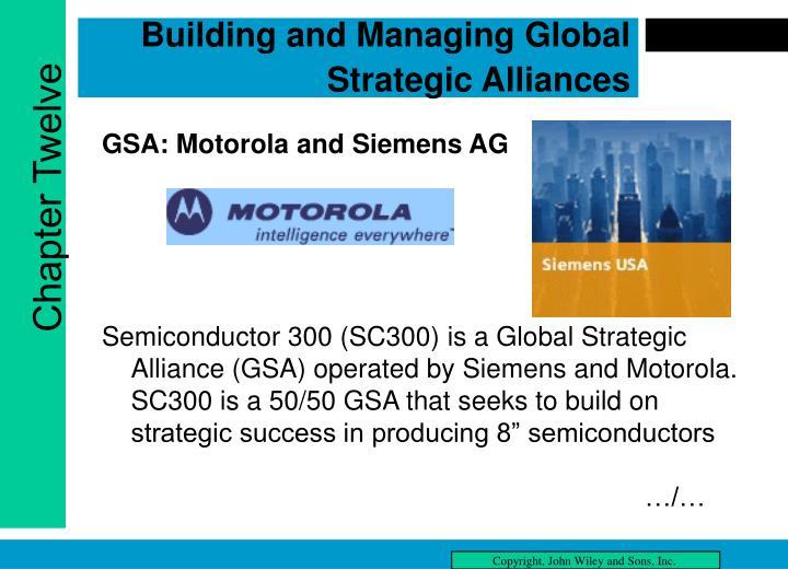 global strategic alliences essay