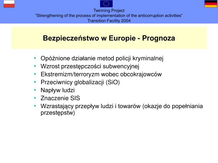 Bezpieczeństwo w Europie
