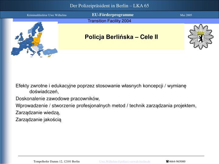 Der Polizeipräsident in Berlin – LKA 65