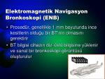 elektromagnetik navigasyon bronkoskopi enb