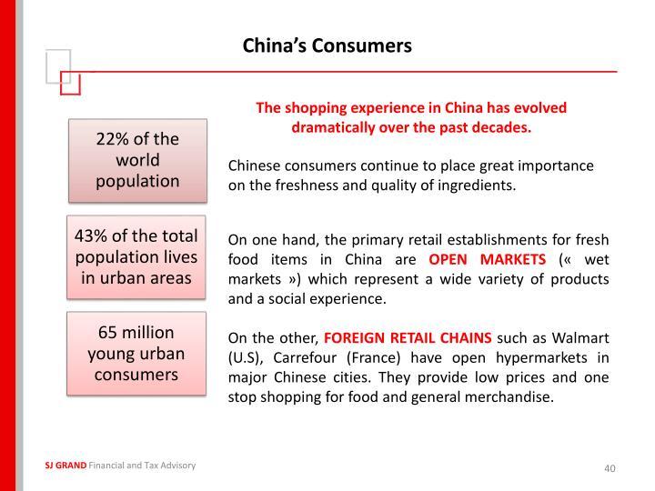 China's Consumers