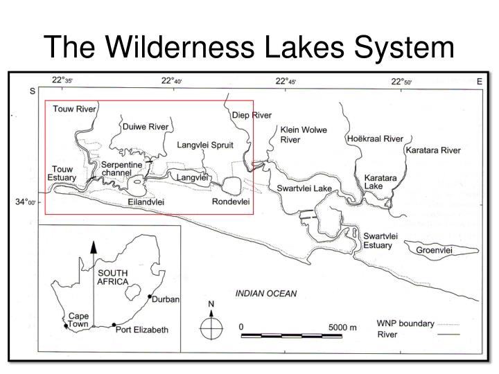 The wilderness lakes system
