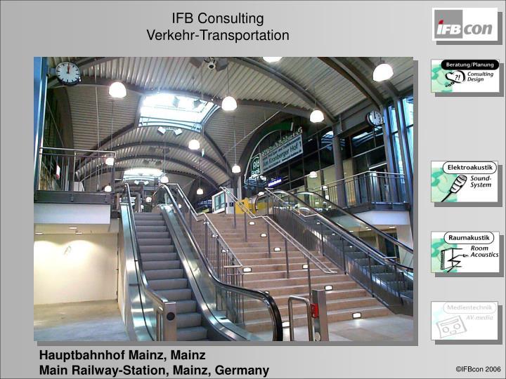 Hauptbahnhof Mainz, Mainz