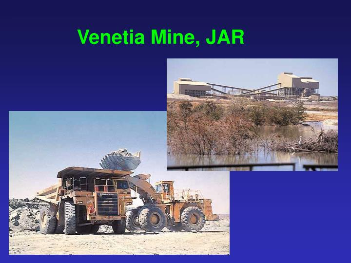 Venetia Mine, JAR