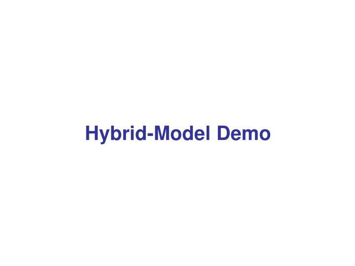 Hybrid-Model Demo