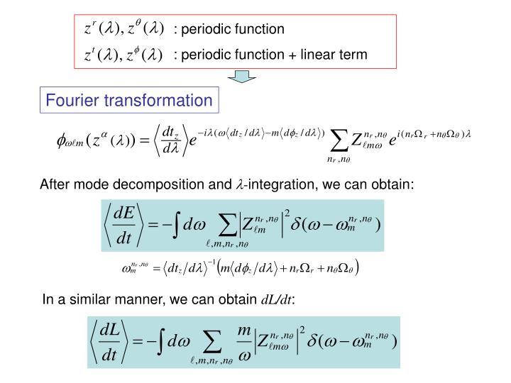 : periodic function