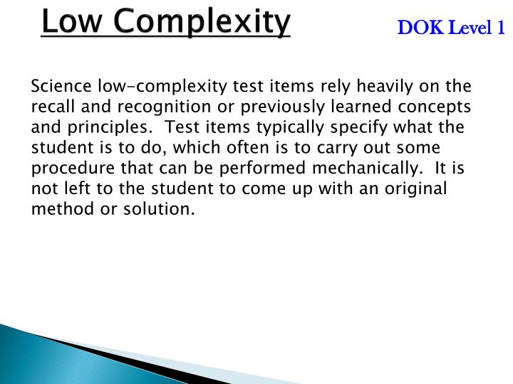 Low Complexity