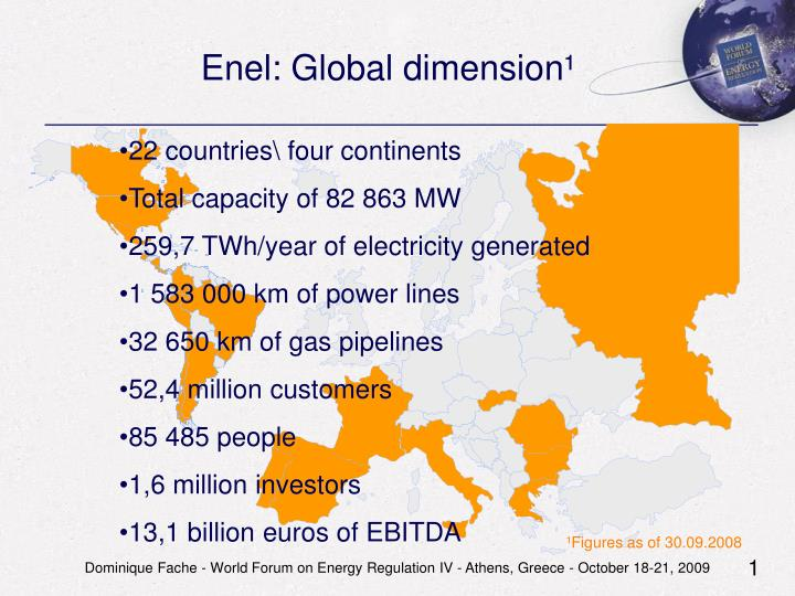 Enel: Global dimension