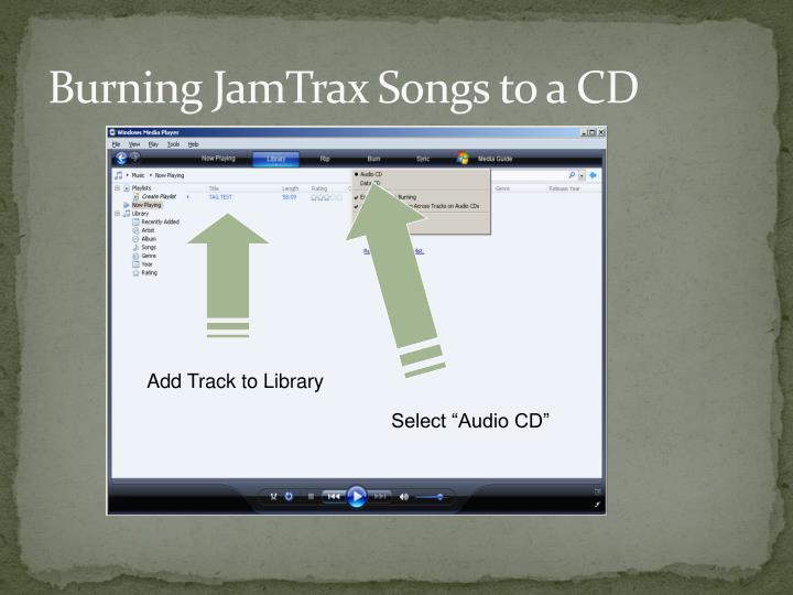 Add Track to Library
