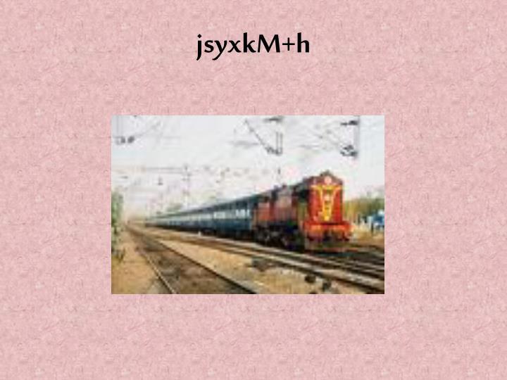 jsyxkM+h