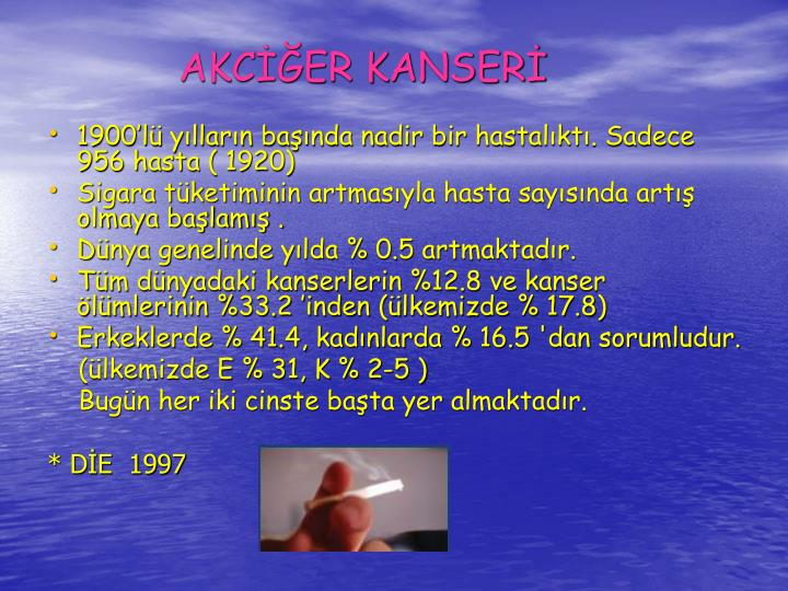 AKCER KANSER