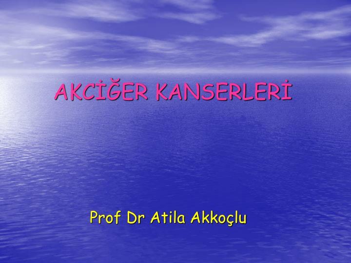 AKCER KANSERLER