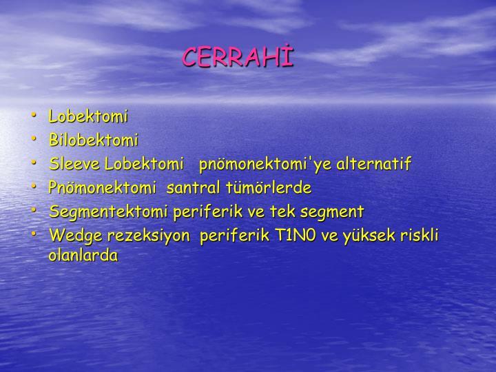 CERRAH