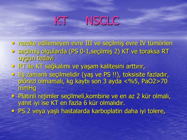 KT     NSCLC