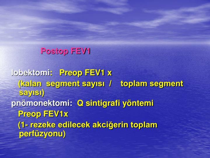Postop FEV1