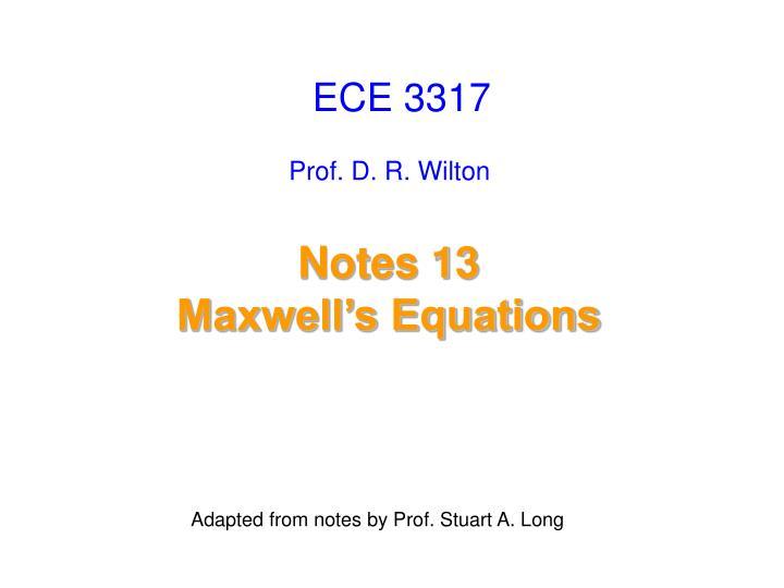 ECE 3317
