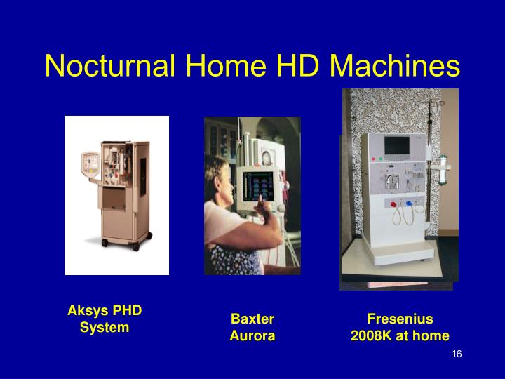 Nocturnal Home HD Machines