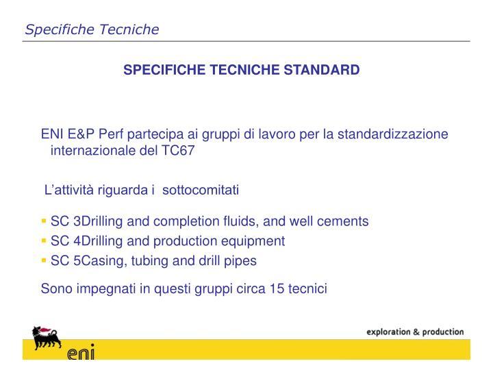 Specifiche Tecniche