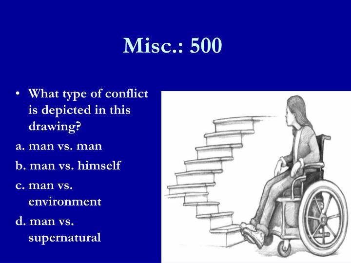 Misc.: 500