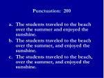punctuation 2001
